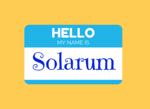 Hello My name is Solarum